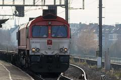 Gand-Gent-Dampoort CrossRail DE6314 Class66 (DiL Photos) Tags: infrabel croissrail sncb am96 bombardier alstom siemens vectron traxx class66 desiro am08 type 13 fret hkm cargo