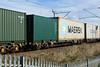 607138 Kingsthorpe 021116 (Dan86401) Tags: 607138 607 fta freightliner fl inner intermodal modal containerflat wagon freight wilsonscrossing kingsthorpe northampton wcml 4m94 maersk