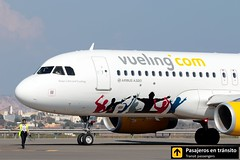 Airbus A320 Vueling Keep Calm and Vueling (Ana & Juan) Tags: airplane airplanes aircraft airport aviation aviones airbus aviación a320 vueling taxiing alicante alc leal spotting spotters spotter planes canon closeup