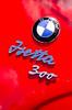 Isetta 300 (GmanViz) Tags: gmanviz color car automobile detail nikon d7000 bmw 1959 isetta badge script type chrome
