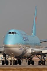 Korean Air B747-8i hl7630-0785 (CF Yuen) Tags: ke kal koreanair boeing b7478 748 hl7630 vhhh hkg hk hongkong 100400lii 100400mmf4556lisiiusm 80d canon clk