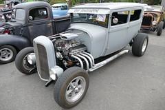 1929 Ford sedan (bballchico) Tags: 1929 ford sedan hotrod ratbastardscc ratbastardscarshow carshow 1920s 206 washingtonstate