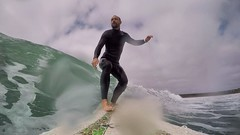 20160928 Surfing at the Plage de Goulien (MikeySee) Tags: mikecurdphotography mikeysee mike mikeysee123 curd france brittany bretagne finistere finistére presquile presquiledecrozon surf surfer surfing surfboard sea beach wave waves watersports coast coastline selfie seflie selfy goulien plage billabong wetsuit bic longboard 9 9foot gopro goprohero4 hero4 mikecurd instagram
