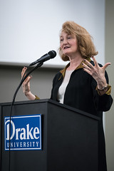 """Becoming Wise"" (Drake University) Tags: drake university becoming wise krista tippett bucksbaumlecture bucksbaum 2016 interfaith fair american journalist talk show host onbeing podcast 37thmartinbucksbaumdistinguishedlectureseries"