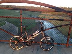 Osage_015 (gouldie) Tags: osageprairietrail tulsa sperry skiatook oklahoma bicycle foldingbike fuji fujiorigami