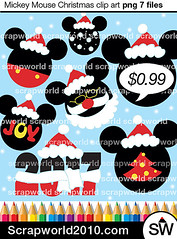 Mickey-mouse-christmas-clipart (tashaclipartino) Tags: commercial use mickey mouse head clipart png jpg stock 1