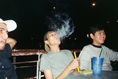 AA013 (Lee Sydney) Tags: olympusmjuii fujicolorc200 bilikbeku 35mmfilm filmisnotdeadinmalaysia filmisnotdeadinpenang penang malaysia georgetown seeninpenang scenesinpenang shisha smoking mamak hafiz jaztmon jwohan boys guys