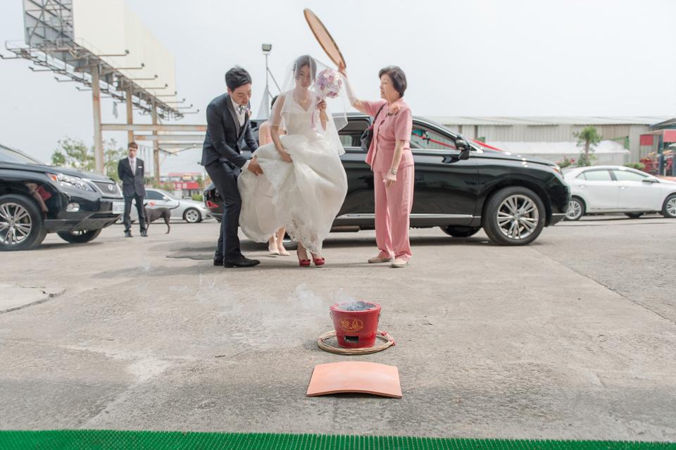 台南婚攝 婚禮紀錄 情定婚宴城堡 C & M 072