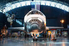 Discovery NASM 30-10-2016 (MarkP51) Tags: spaceshuttle discovery ov103 nasa nasm nationalairandspacemuseum chantilly virginia usa museum aviation preserved image markp51 nikon d7100 aviationphotography spacecraft orbiter spacevehicle