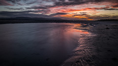 Sunset in Sandymount - Dublin, Ireland - Seascape photography