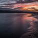 Sunset in Sandymount - Dublin, Ireland - Seascape photography