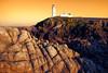 Low Tide (Perkvats Havatkov) Tags: eosm fanad lighthouse rocky shoreline coast