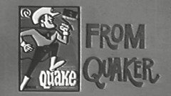 1969 - Commercial - New & Improved Quaker Cereal from Quaker (and Quisp too!) (VideoArcheology) Tags: videoarcheology 1969 commercial new improved quaker cereal from and quisp too