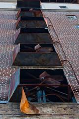 Rusted Blades (TastyPrawn) Tags: texarkana texas arkansas abandoned derelict buidling rust creepy
