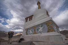 Work in Progress (Ravikanth K) Tags: 500px leh ladakh people travel india jammuandkashmir sthuopa stanka monastery work workert construction restoration outdoor