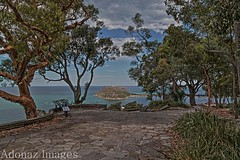 A Piece of Paradise - NSW- Sydney (Adolfo Nazario) Tags: beautiful kuringgai chase national park west head lookout with barrenjoey lighthouse palm beach paradise nsw sydney