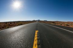 Continue On This Road (kent.c) Tags: navajotribalpark navajonation az arizona kentc kentcphotography canon canon5dmarkiii usa 2016 monumentvalley monumentvalleynavajo western sandstonebuttes fisheye