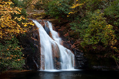 Blue Hole Falls (John Cothron) Tags: 35mmformat 5dmarkii 5d2 5dii 5dmkii americansouth blueholefalls canon canoneos5dmkii chattahoocheeoconeenationalforest cothronphotography dixie georgia johncothron southatlanticstates southernregion swallowcreekwildlifemanagementarea thesouth townscounty us usa unitedstatesofamerica autumn clearsky digital environment fall falling flowing forest nature outdoor protected sunny water waterfall img06936111030 ©johncothron