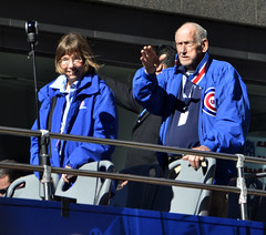 Champions (tacosnachosburritos) Tags: chicago cubs crowd parade man guy fan woman girl lady autumn baseball north michigan avenue rally chick kids championship world series champs 2016 cheers applauds anticipation joy happy street photography thestreets glory magnificentmile players bus trolley humanity humanrace people