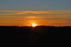 Suffolk Sunset (Phoebedslr) Tags: sunset skies birdflock suffolk