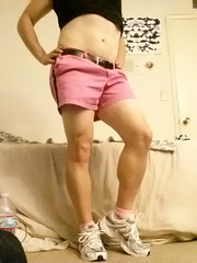 I'm all dressed up for you daddy (Kicks & Stems) Tags: gurl crossdresser sexy athletic nike pink daddy cd woman fem cute outfit love hot play dress dressup legs girl cocksucker hooters shorts shirt belt tennis shoes white black sex bi bipolar