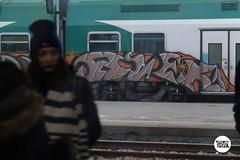 #stolenstuff #graffitiblog #flickr4stolen #avek #fer #graffititrain #graffiti #running #benching #trainbombing #instagraff (stolenstuff) Tags: instagram stolenstuff graffiti graffititrain benching