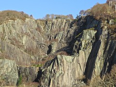 6589 Llanberis Quarry (Andy - Busyyyyyyyyy) Tags: 20170102 geology ggg llanberisquarry lll qqq quarry rock rrr