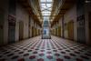 Das Gefängnis - Cellway (visiological) Tags: chemnitz sachsen deutschland de lost place urbex prison gefängnis treppen stairs