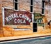 Royal Wall (Pete Zarria) Tags: arkansas sign ghost soda pop coke royalcrown wall dog