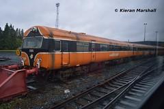 6105 at Inchicore, 15/10/14 (hurricanemk1c) Tags: dublin irish train rail railway trains railways irishrail 2014 inchicore mark3 6105 brel stored iarnród éireann controlcar iarnródéireann