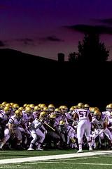 Purple Pre-Game (Shannon Tompkins) Tags: school sports night canon football high purple kentucky ky louisville 6d