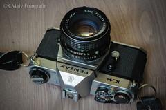 Pentax KM (in Explore!) (Ren Maly) Tags: camera slr film pentax 1855 km cameraporn kmount camerawiki renmaly