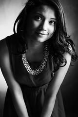 Color of innocence (B/W) (snarulax) Tags: portrait white black blanco girl chica retrato negro estudio study innocence subject sujeto