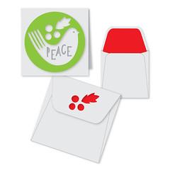 peace-minicard (emily dyer) Tags: silhouette card folded greetingcard svg papercut diecut foldedcard