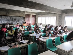 Hoersaal am DIT Douala#Bildung ist Zikunft#IT Projekt