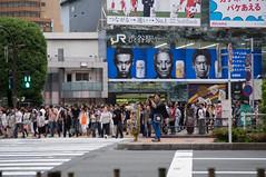 Shibuya Crossing (O.Ped) Tags: japan tokyo crossing shibuya giappone