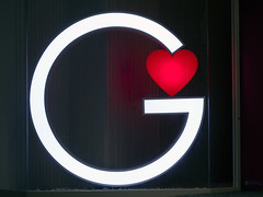 The letter 'G' (DigiPub) Tags: japan horizontal night photography ginza heart g nopeople letter  onsale gettyimages humaninterest tokyoprefecture colorimage ma20141120 525600643 o20141127