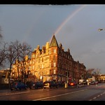 Rainbow over Dalkeith Road