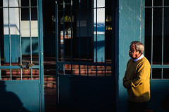 Hey sir. (lucianopaivaphotography) Tags: chile street blue color canon photography photographer sigma 7d luciano chileno chilean antofagasta fotografas 30mm paiva
