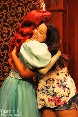 Mermaid Hugs (abear-andabow) Tags: ariel disneyprincess thelittlemermaid royalhall disneyparks fantasyfaire yasminkphotography