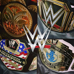 (imranbecks) Tags: world county new orange logo championship belt big belts replica network title heavyweight occ wwe commemorative choppers 2014