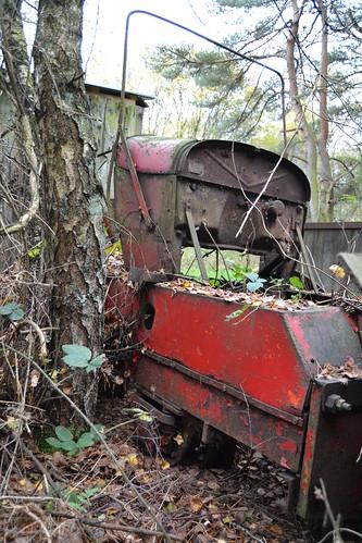 Old gasoline loco