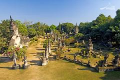 Buddha Park ( Wat Xieng Khuan ) Vientiane, Laos