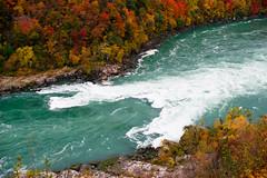 Autumn (nolajuju) Tags: autumn canada fall river niagarafalls october niagara glen rapids gorge niagaraglen fallcolours aerocar niagarariver