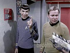Ultimately, a blooper, 12.67 (birdofthegalaxy) Tags: startrek spock scifi kirk lincolnenterprises tos filmclip theoriginalseries culttv