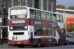 758 (Callum Colville's Lothian Buses) Tags: square edinburgh gemini lothian madder granton lothianbuses edinburghbus b7tl madderandwhite madderwhite busesedinburgh