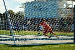 K_IM4747 (westminster.college) Tags: playing men net sports ball goal team athletics kick soccer mens jersey score titans 2014 menssoccer 2014menssoccer