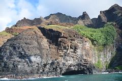 Napali Coast (vacationer1901) Tags: stingray turtle dolphin kauai napali napalicoast boattour