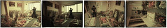 1992.10-1993.10 Panel painting mixed material  -17 (8hai - painting) Tags: painting studio mixed shanghai panel material   199210199310