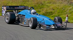 Blue 2 on the apex. (foto.pro) Tags: park car sport race climb hill driver motor loton spped
